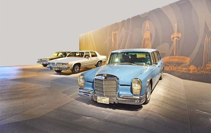 سيارات الملك فهد دون لوحات مميزة