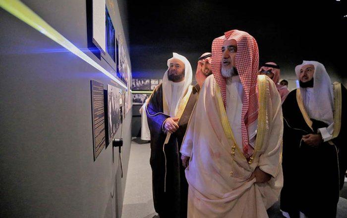 وزير الشؤون الإسلامية: مثل هذه المعارض مطلوبة