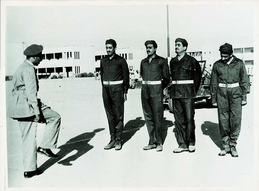 مدرب الملك فهد في العسكرية : كان مثالاً للقيادة والالتزام والأخلاق الرفيعة