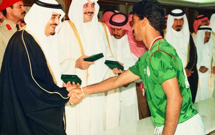 عهد الملك فهد أكبر عدد من الأهداف الرياضية
