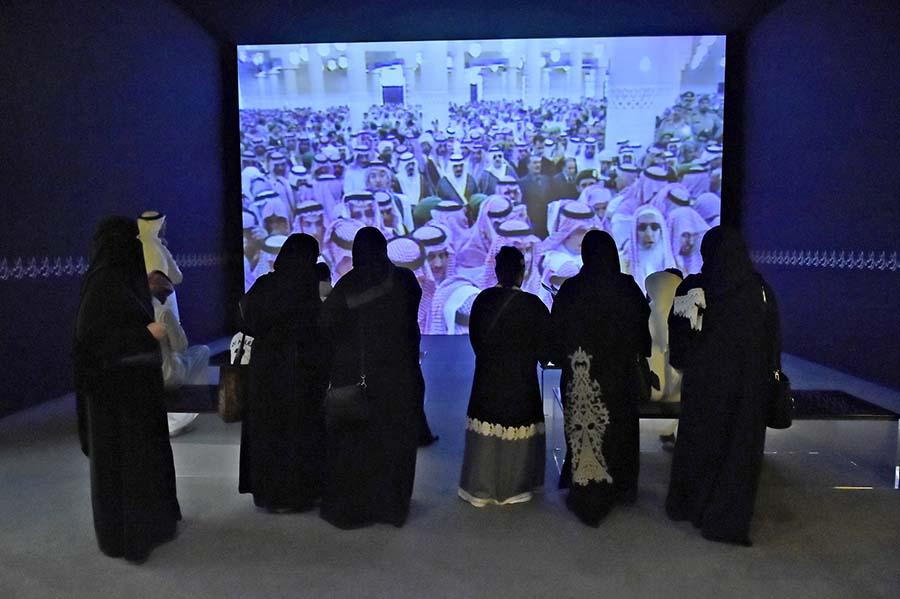 شهد المعرض حضور عائلي مميز