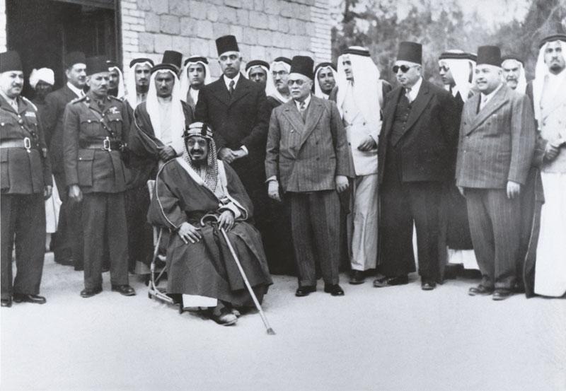 الملك فهد في مصر