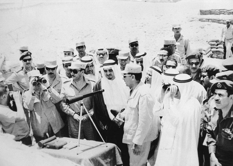 الملك فهد ودعم مصر