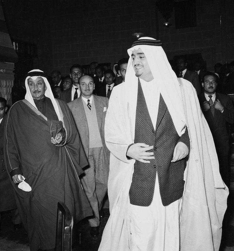 الملك فهد والقاهرة