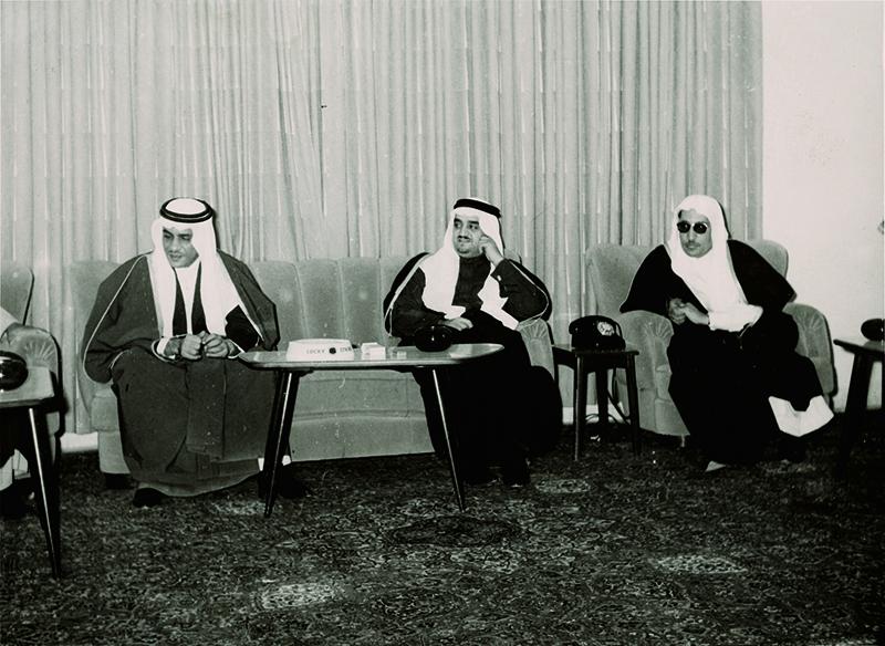 الملك فهد وزير المعارف
