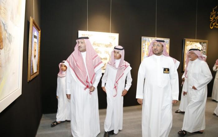 خالد السليمان المدير التنفيذي للمعرض : حاولنا زرع روح الفهد القيادية في داخل كل طفل وشاب