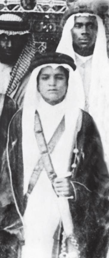 الملك فهد بن عبد العزيز وهو صغير