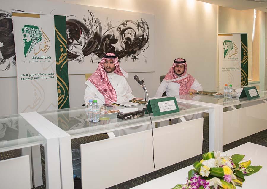 الأمير تركي بن محمد بن فهد والأمير عبد العزيز بن سعود بن فهد الاستعداد للمحطة الثالثة لروح القيادة