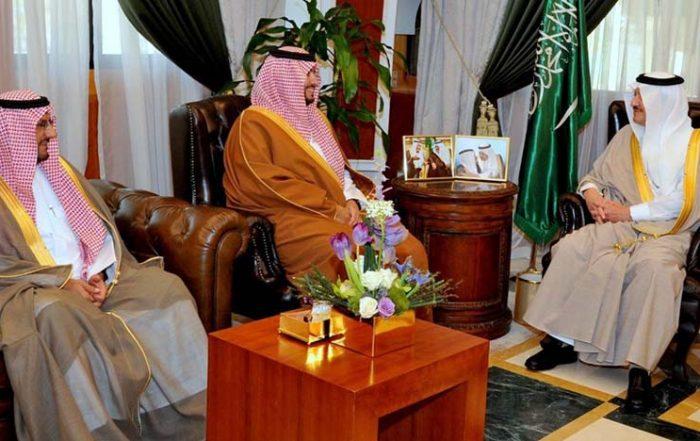 أمير المنطقة الشرقية يستقبل الأمير تركي بن محمد بن فهد